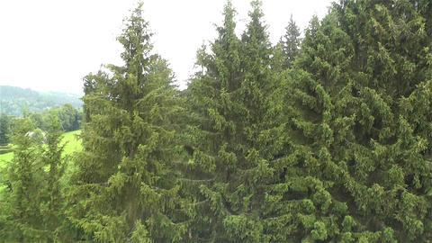 European Alps Kitzbuhel Austria Aerial 5 Footage