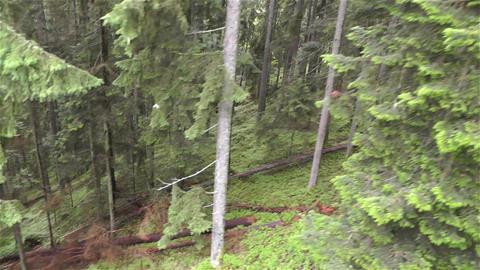 European Alps Kitzbuhel Austria Aerial 11 Stock Video Footage