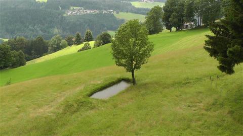 European Alps Kitzbuhel Austria Aerial 15 Stock Video Footage
