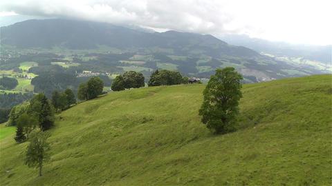 European Alps Kitzbuhel Austria Aerial 17 Footage