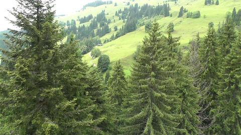 European Alps Kitzbuhel Austria Aerial 28 Stock Video Footage