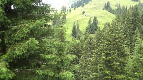European Alps Kitzbuhel Austria Aerial 30 Footage