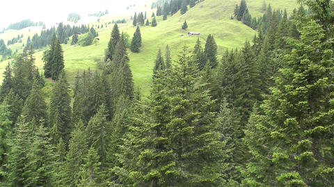 European Alps Kitzbuhel Austria Aerial 30 Stock Video Footage