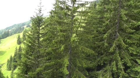 European Alps Kitzbuhel Austria Aerial 33 Footage