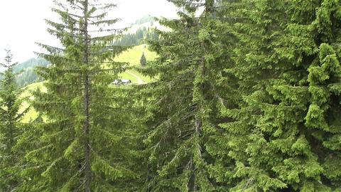 European Alps Kitzbuhel Austria Aerial 33 Stock Video Footage