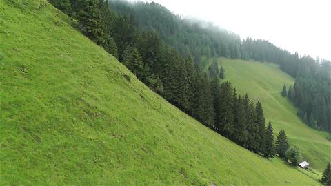 European Alps Kitzbuhel Austria Aerial 37 Stock Video Footage