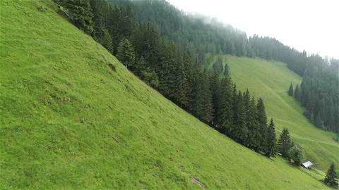 European Alps Kitzbuhel Austria Aerial 37 Footage