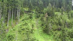 European Alps Kitzbuhel Austria Aerial 47 Footage