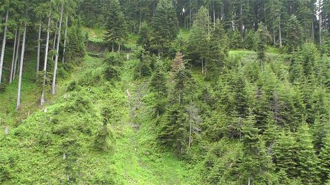 European Alps Kitzbuhel Austria Aerial 47 Stock Video Footage
