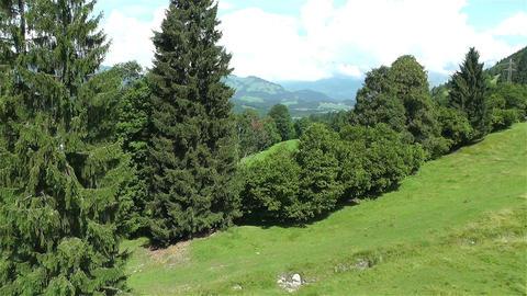 European Alps Kitzbuhel Austria Aerial 57 Stock Video Footage