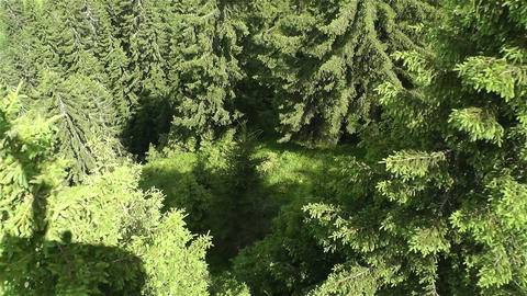 European Alps Kitzbuhel Austria Aerial 67 cable ca Footage