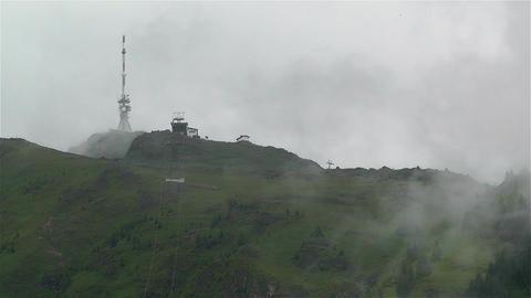 European Alps Kitzbuheler Horn Austria 1 Stock Video Footage