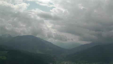 European Alps Summer Clouds Timelapse 6 Footage