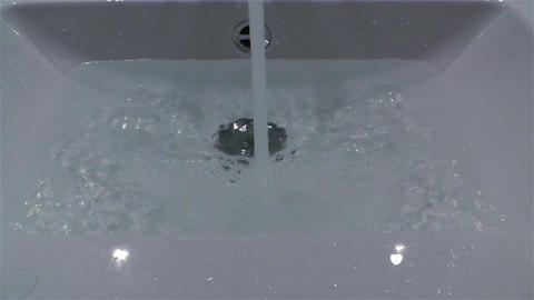 Filling Bathtube 3 Footage