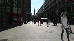 Hamburg Downtown Germany 1 Stock Video Footage