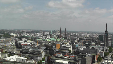 Hamburg Germany Aerial 19 Footage