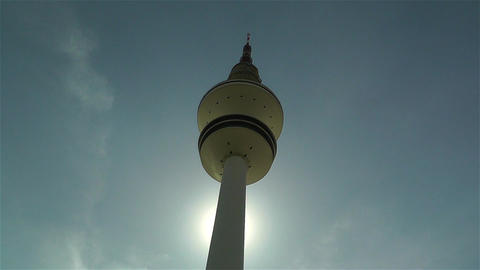 Heinrich Hertz Tower Hamburg Germany 2 Stock Video Footage