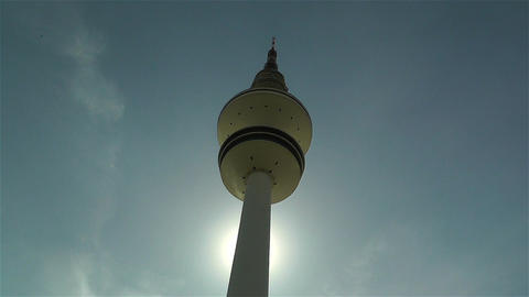 Heinrich Hertz Tower Hamburg Germany 2 Footage
