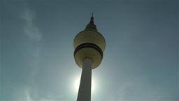 Heinrich Hertz Tower Hamburg Germany 2 Stock Video Footage