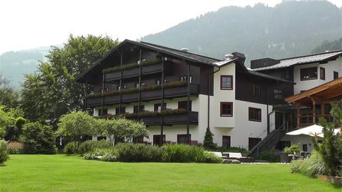 House in Austria Tirol 1 Stock Video Footage