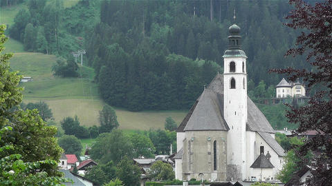 Kitzbhel Austria 3 Stock Video Footage