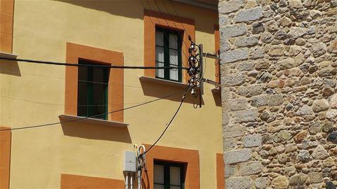 Mediterranean Buildings 1 Stock Video Footage