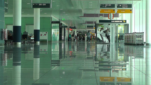 Munich Airport Germany 3 Stock Video Footage