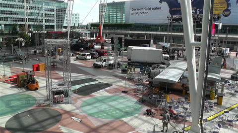 Munich Airport Germany Exterior 2 Footage