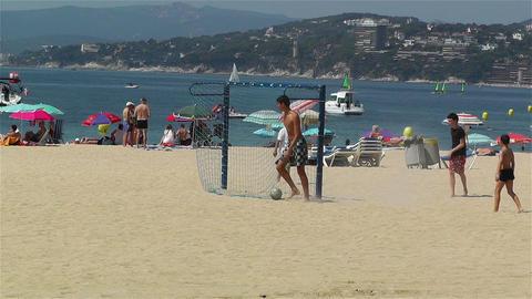 Palamos Beach Costa Brava Spain 7 Stock Video Footage