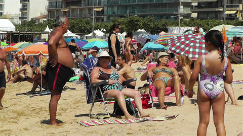 Palamos Beach Costa Brava Spain 11 Footage