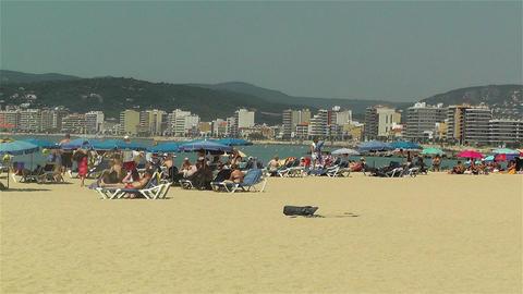 Palamos Beach Costa Brava Spain 15 Stock Video Footage