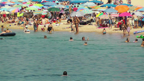 Palamos Beach Costa Brava Spain 34 Footage