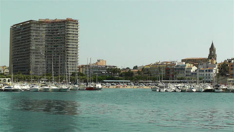 Palamos Costa Brava Catalonia Spain 12 Footage
