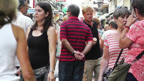 Palamos Street Costa Brava Catalonia Spain 10 Footage