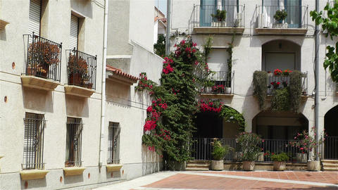 Palamos Street Costa Brava Catalonia Spain 14 Footage