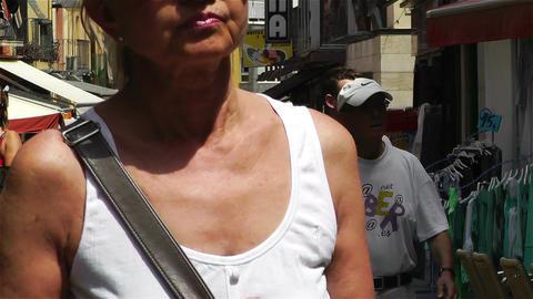 Palamos Street Costa Brava Catalonia Spain 16 Footage