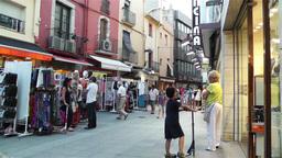 Palamos Street Costa Brava Catalonia Spain 18 Footage