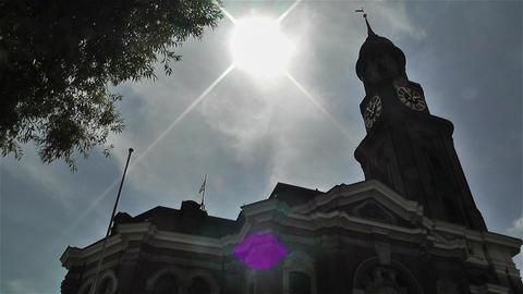 Saint Michaelis Church Hamburg Germany 1 Footage
