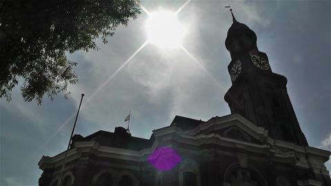 Saint Michaelis Church Hamburg Germany 1 Stock Video Footage