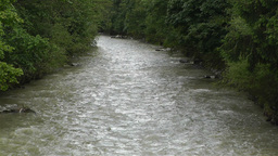 Strong Curent Mountain River 1 Stock Video Footage