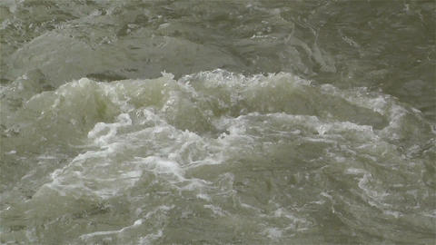 Strong Curent Mountain River 3 Stock Video Footage
