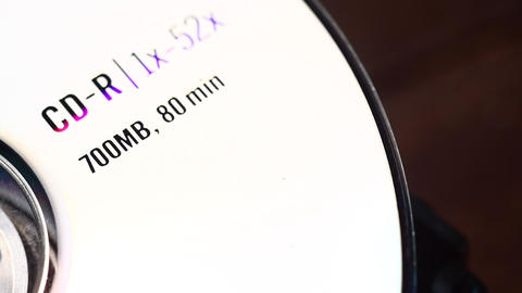 DVD disk Stock Video Footage