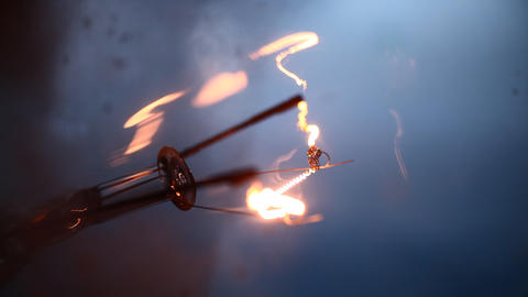 Tungsten bulb Footage