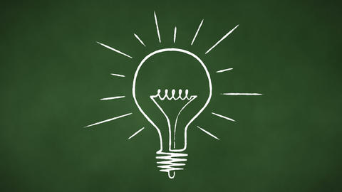 Light Bulb Loop Stock Video Footage