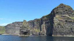 Cliffs of Moher 3 Stock Video Footage