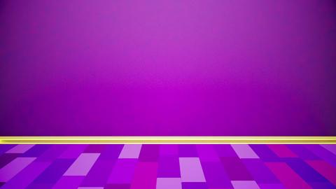 Purple stage Stock Video Footage