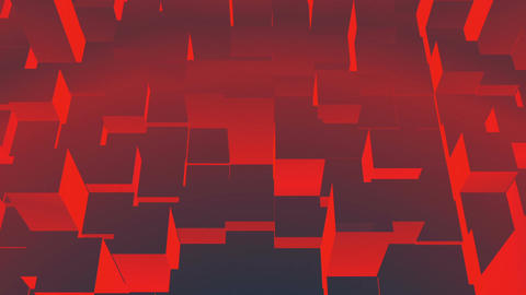 Red equalizer bars Stock Video Footage