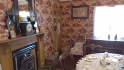 Bunratty Folkpark Cottage Stock Video Footage