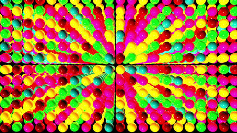 Colorful balls Stock Video Footage