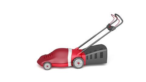 Lawn mower Animation